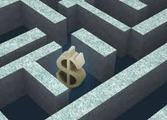 Money in maze